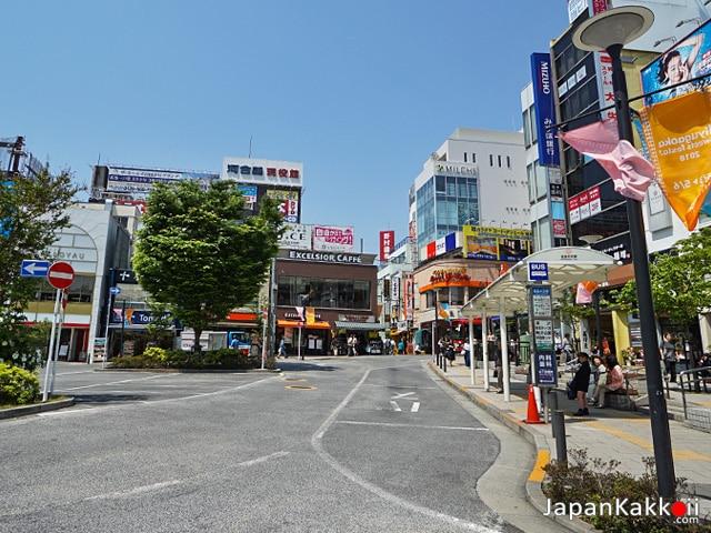 หน้าสถานีจิยูกาโอกะ (Jiyugaoka)