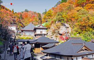 วัดยามาเดระ (Yamadera Temple / Risshakuji Temple)