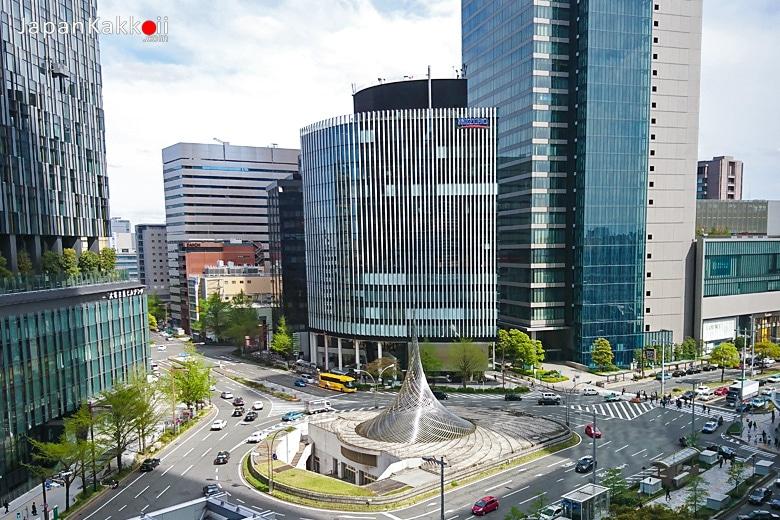 วงเวียนหน้าสถานี Nagoya
