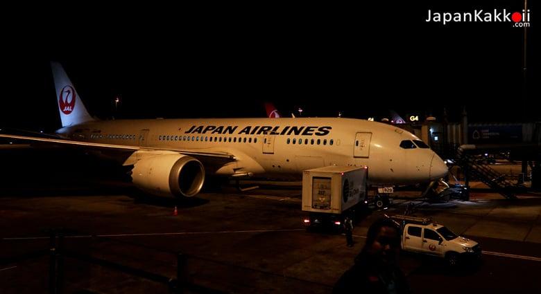 เครื่องบินสายการบินเจแปนแอร์ไลน์ (Japan Airlines)