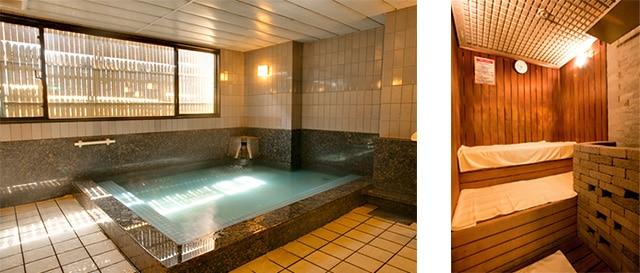 ห้องอาบน้ำและซาวน่า