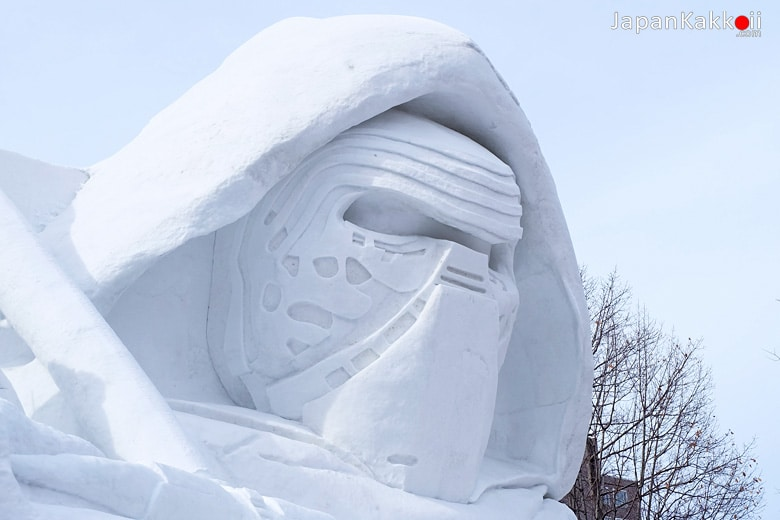 Sapporo Snow Festival 2017 at Star Wars Stage