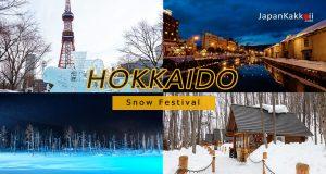เที่ยวฮอกไกโดหน้าหนาว ช่วงเทศกาลหิมะ (Snow Festival)