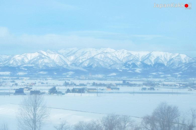 วิวหิมะในฮอกไกโด