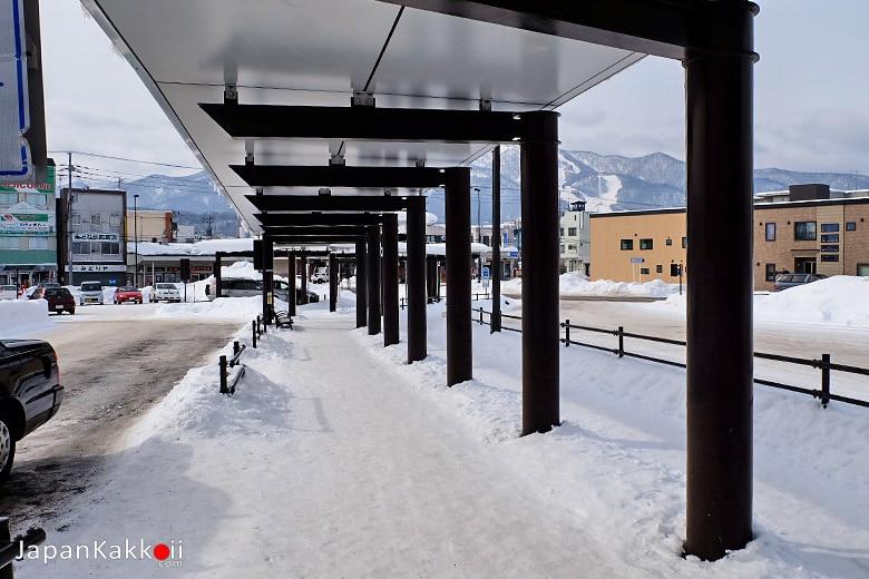 หน้าสถานี JR Furano