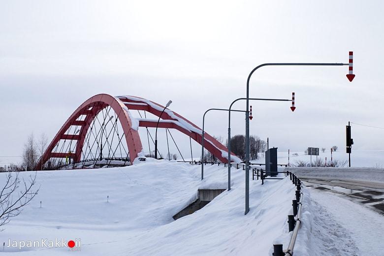 สะพานข้ามแม่น้ำบิเอะ (Biei River)