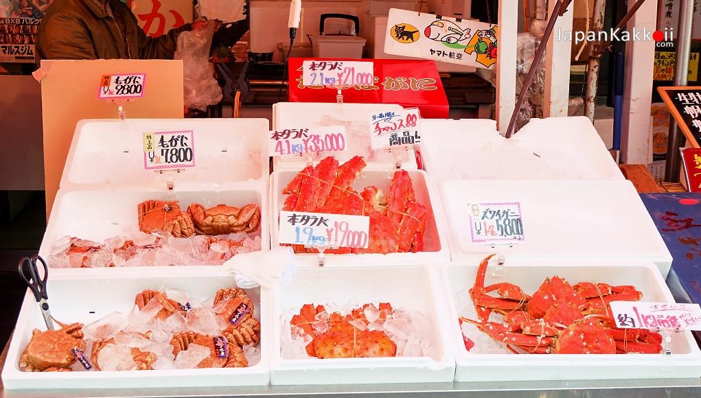 ตลาดปลานิโจ (Nijo Fish Market)