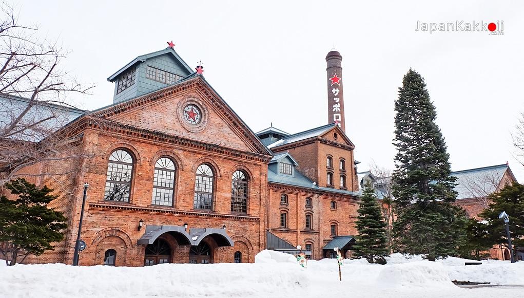 ลานเบียร์ซัปโปโร (Sapporo Beer Garden) & พิพิธภัณฑ์เบียร์ซัปโปโร (Sapporo Beer Museum)