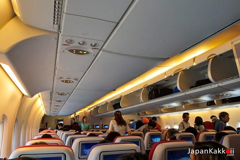 ที่นั่งการบินไทย Airbus A380-800