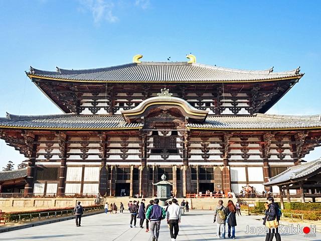 วัดโทไดจิ (Todai-ji Temple)