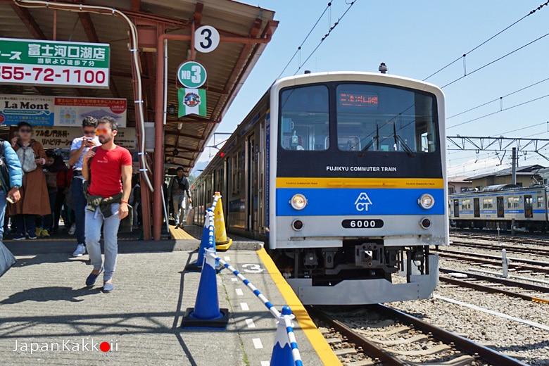 Fujikyu Railway Kawaguchiko