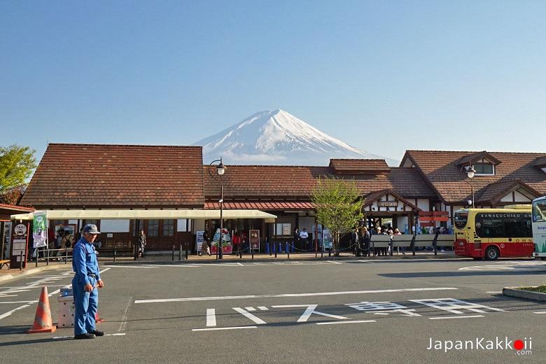 สถานี Kawaguchiko