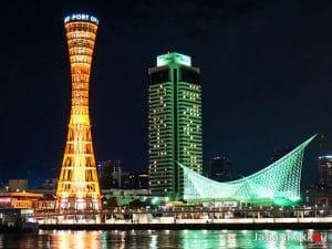 Kobe Port Tower และ Kobe Maritime Museum