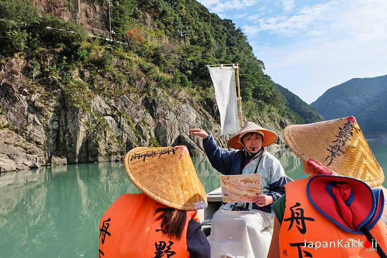 ทัวร์ล่องเรือแม่น้ำคุมาโนะ