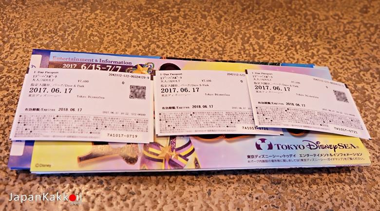 Tokyo DisneySea Ticket