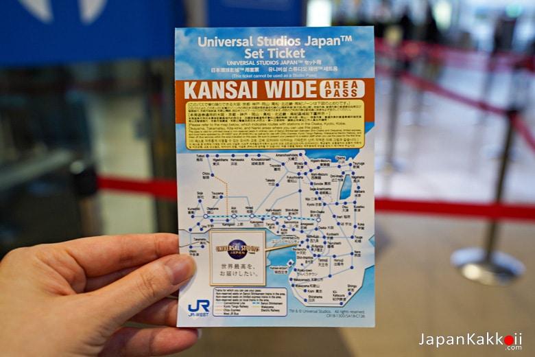 JR Kansai WIDE Area Pass