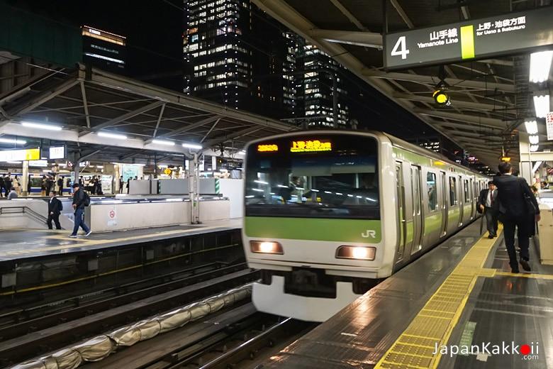 รถไฟสาย Yamanote Line