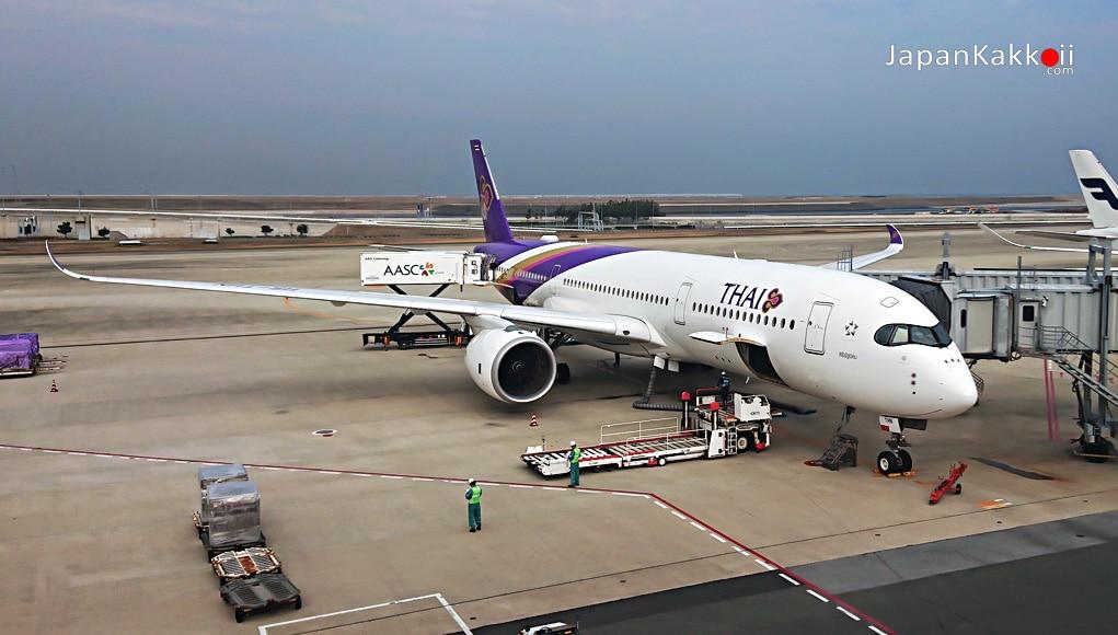 การบินไทย (Thai Airways) กรุงเทพ (BKK) – โอซาก้า (KIX)