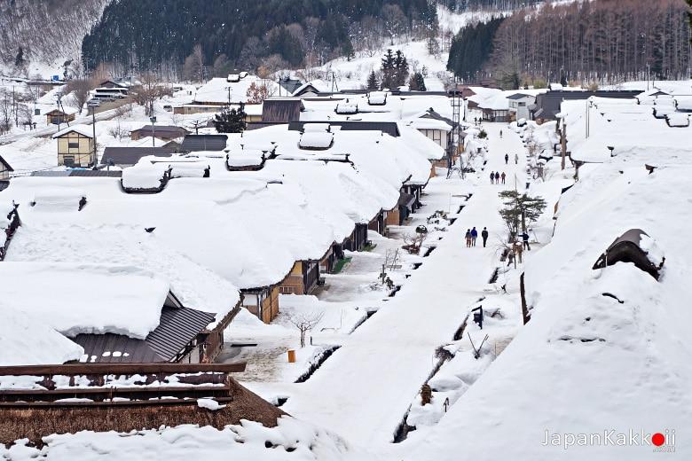 หมู่บ้านโออุจิ จูคุ (Ouchi-Juku / 大内宿)