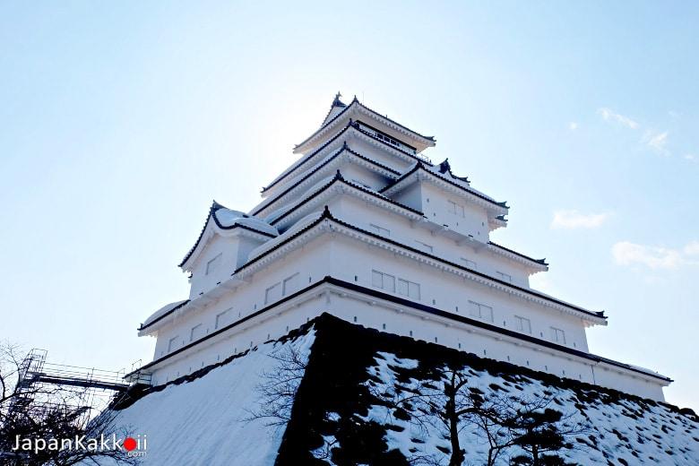 ปราสาทสึรุกะ (Tsuruga Castle / 鶴ヶ城)