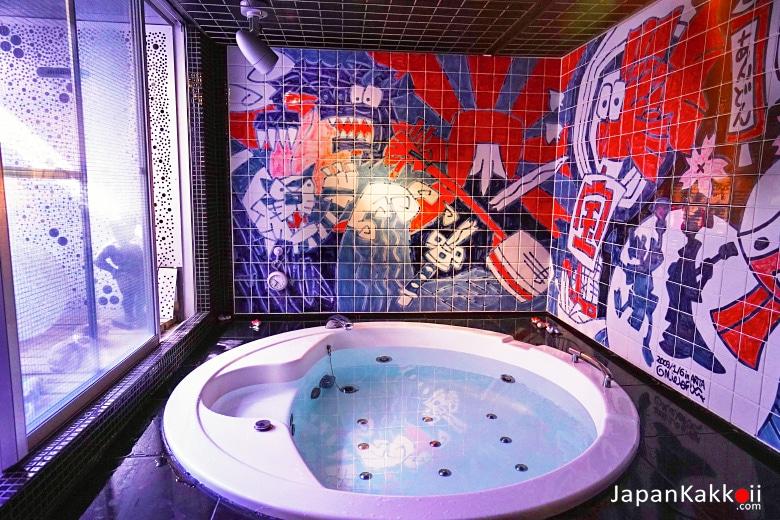 ห้องอาบน้ำ Andon Ryokan