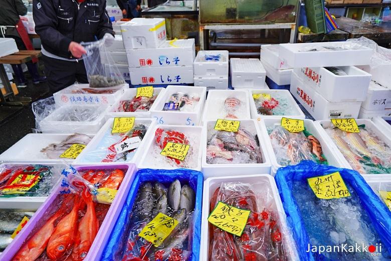 ตลาดปลาอาดาจิ (Adachi Fish Market)