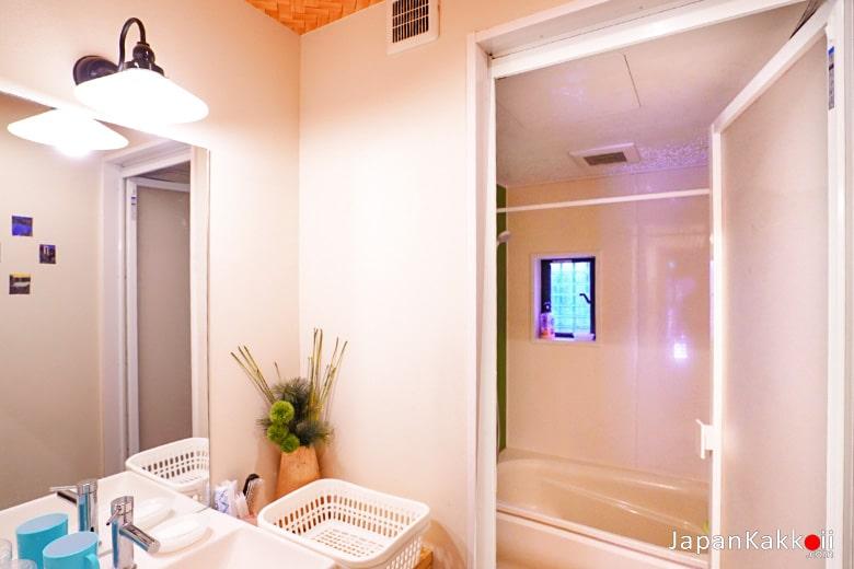 ห้องอาบน้ำ Komatsu Ryokan