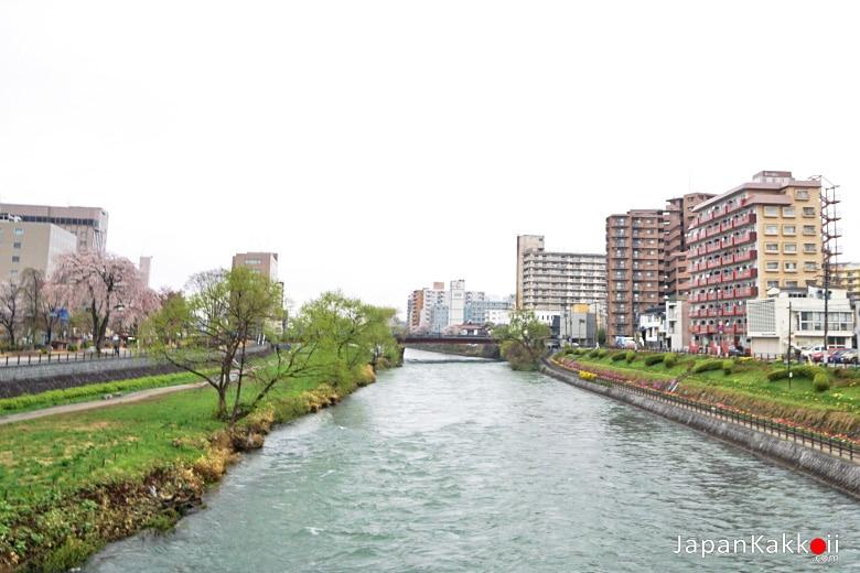 แม่น้ำคิตะคามิ (Kitakami River)