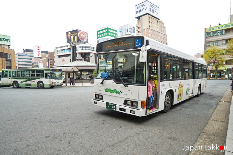 Morioka Central Loop Bus Denden Mushi