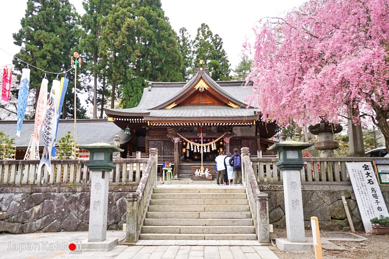 ศาลเจ้าซากุระยามะ (Sakurayama Shrine / 櫻山神社)