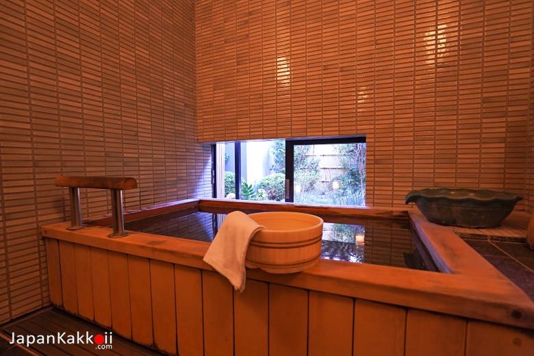 ห้องอาบน้ำ Ryokan Sawanoya