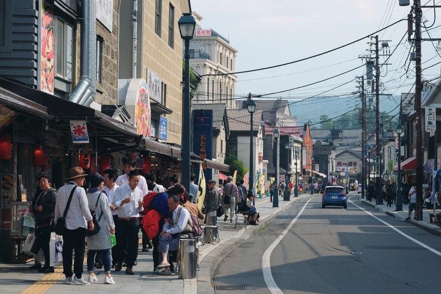 Otaru Sakaimachi Dori Shopping Street