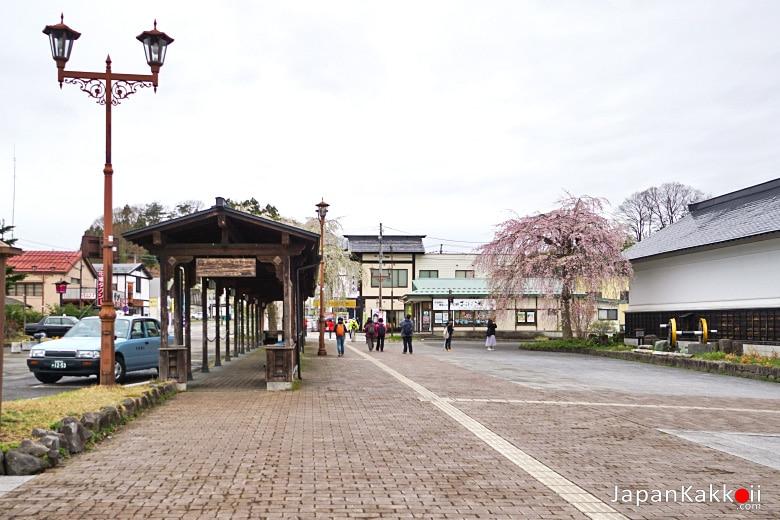 หน้าสถานีรถไฟ