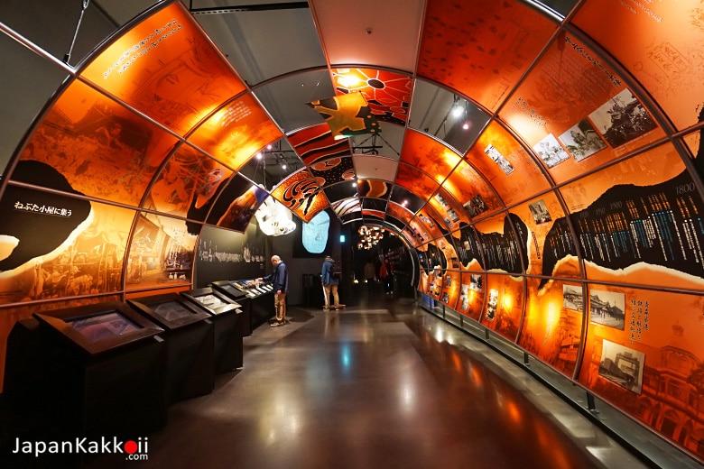 Aomori Nebuta Tunnel