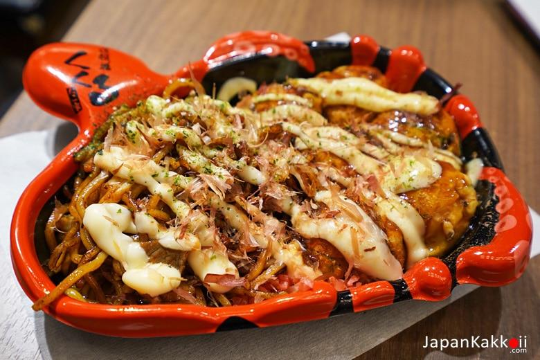 Konamon Set (Takoyaki & Yakisoba)