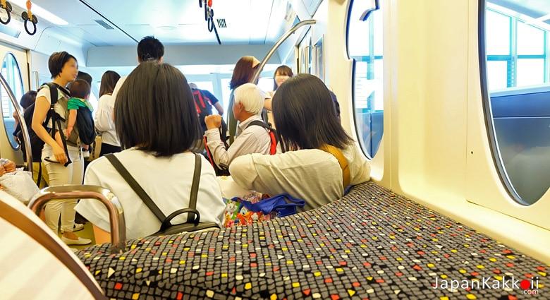 ด้านในรถไฟ