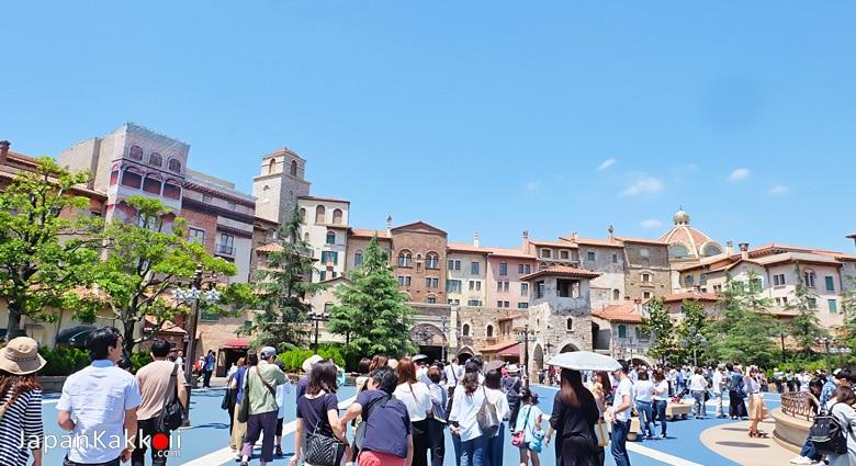 Tokyo DisneySea (สวนสนุกโตเกียวดิสนีย์ซี)