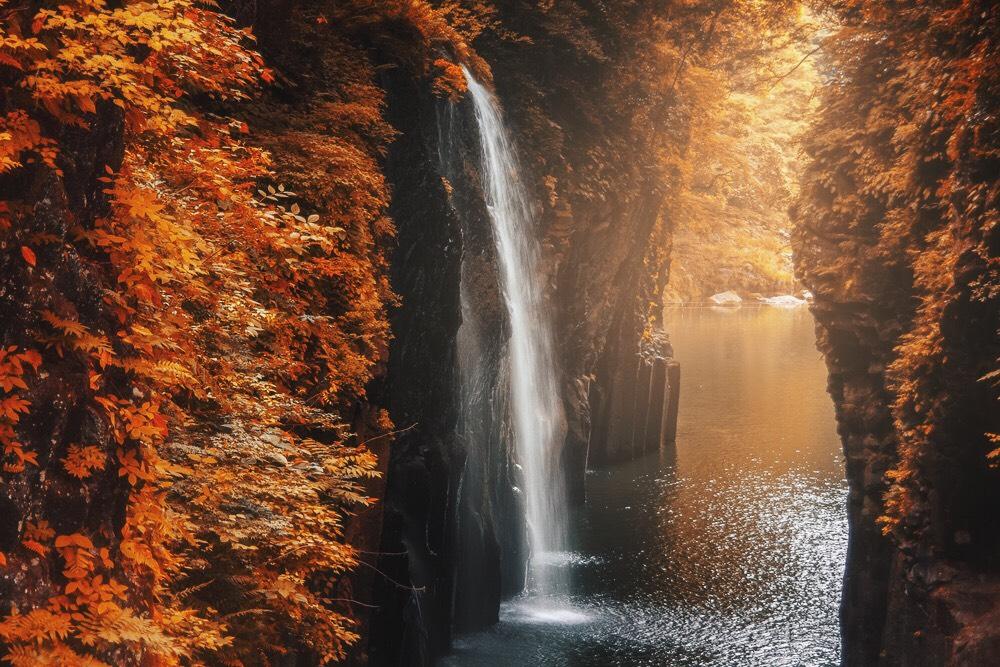ช่องเขาทาคาชิโฮ (Takachiho Gorge)