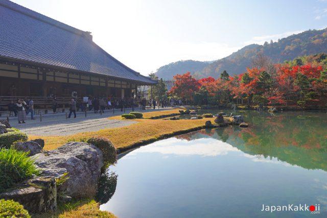 พยากรณ์ใบไม้เปลี่ยนสีในเกียวโต (Kyoto)