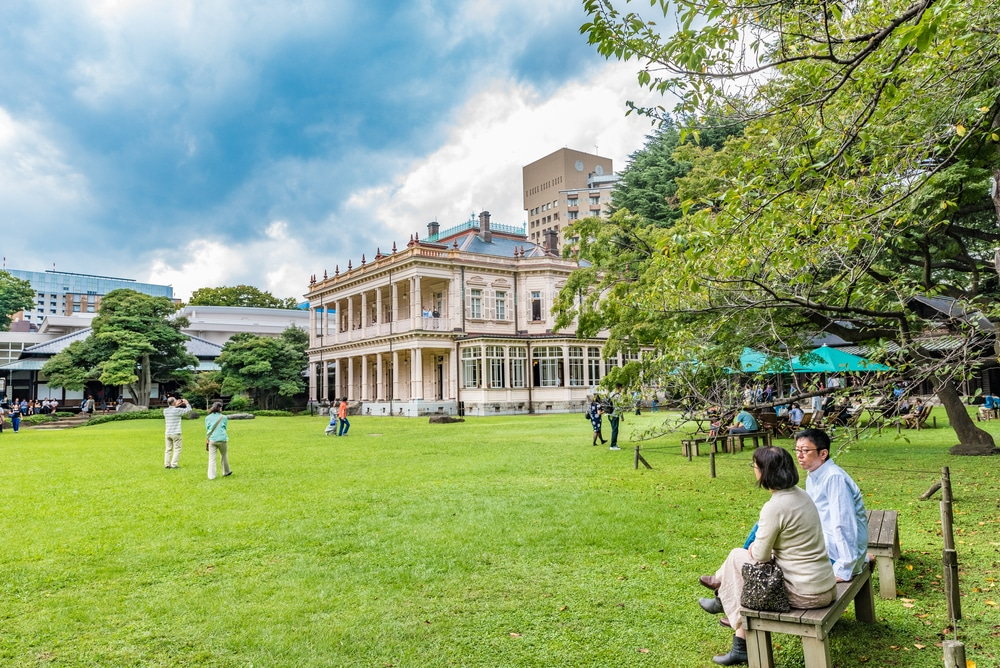 5. Kyu Iwasaki-tei Gardens