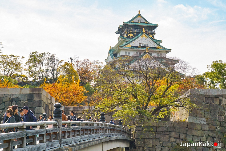 พยากรณ์ใบไม้เปลี่ยนสีในโอซาก้า (Osaka)