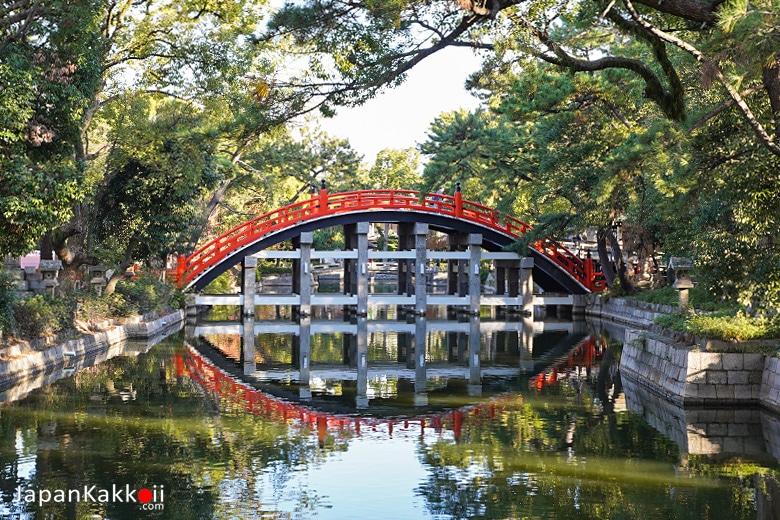 ศาลเจ้าสุมิโยชิ ไทฉะ (Sumiyoshi Taisha / 住吉大社)