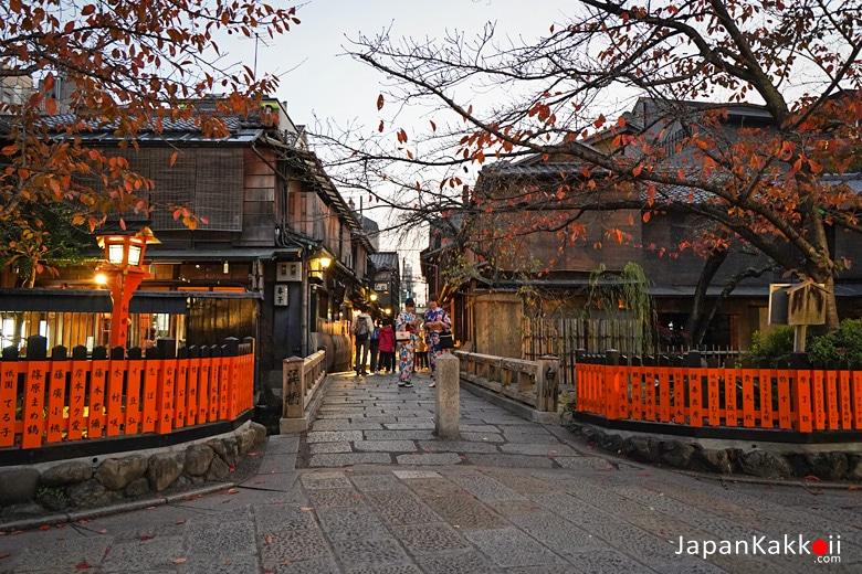 Gion Tatsumi Bridge (祇園 巽橋)