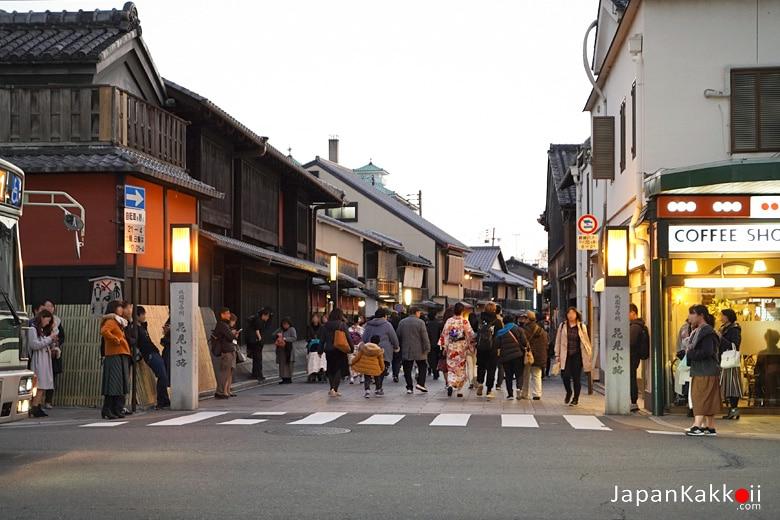 ถนนฮานามิโคจิ (Hanamikoji / 花見小路)