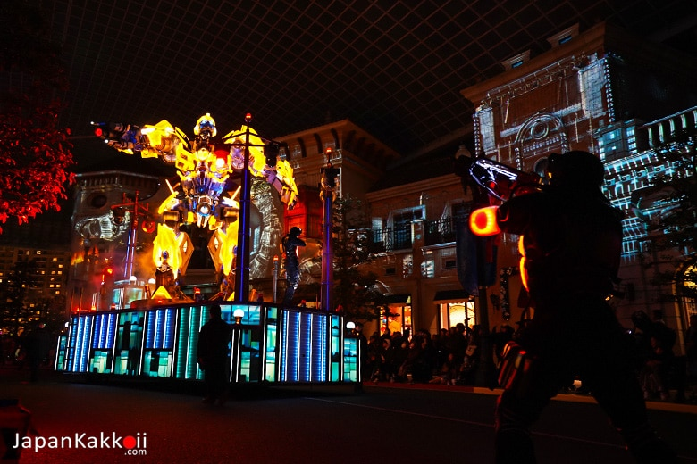 Universal Spectacle Night Parade - Transformers
