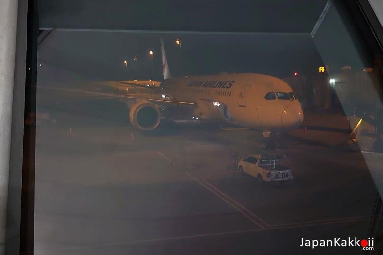 Japan Airlines ไปโอซาก้า