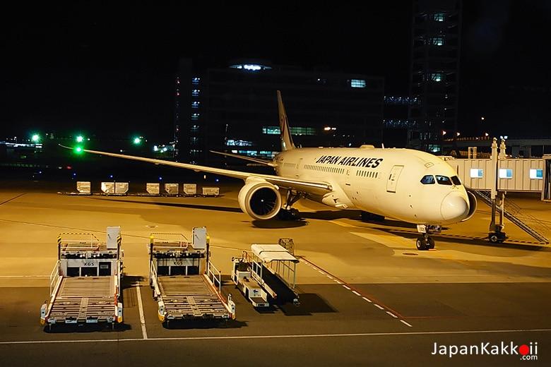Japan Airlines กลับกรุงเทพ