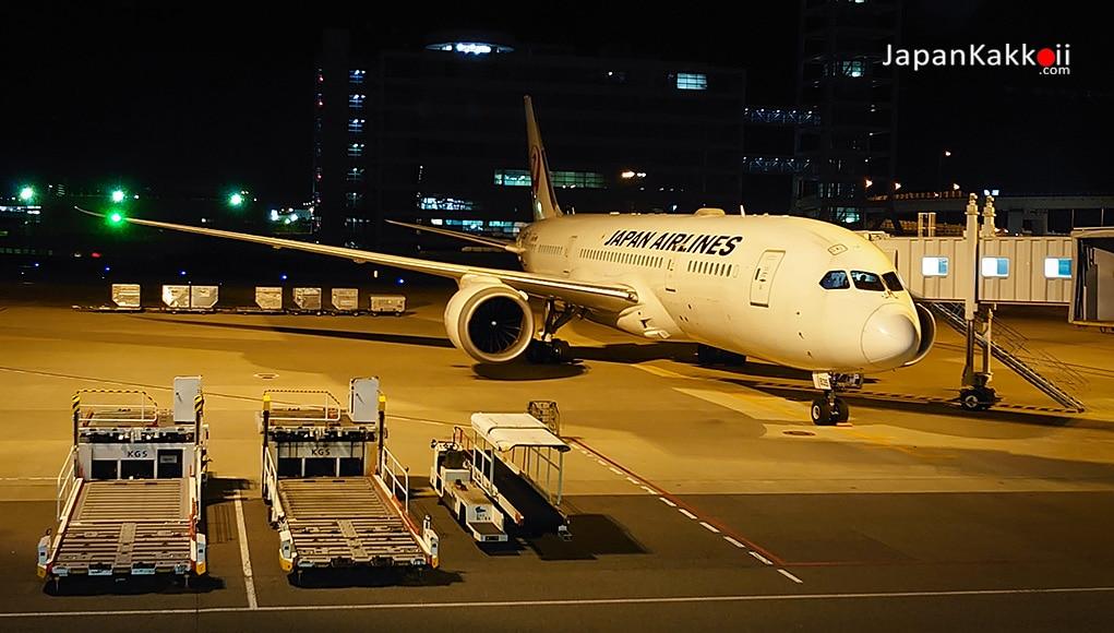 สายการบินเจแปนแอร์ไลน์ (Japan Airlines) กรุงเทพ (BKK) – โอซาก้า (KIX)