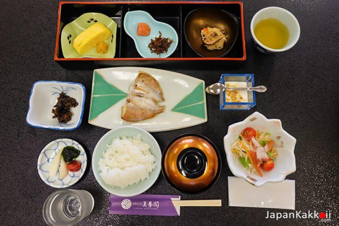 อาหารเช้าแบบคนญี่ปุ่น