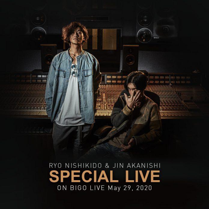 Jin Akanishi x Ryo Nishikido Bigo Live